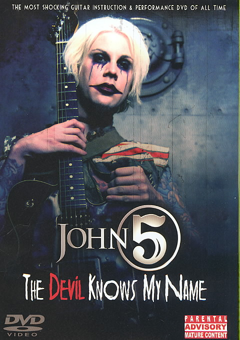 JOHN 5:DEVIL KNOWS MY NAME BY JOHN 5 (DVD)